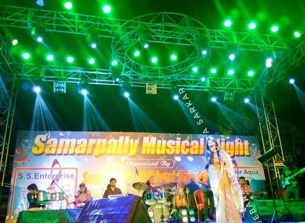 Live Musical events by debarati dasgupta sarkar